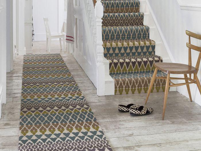 Alternative flooring, stair carpets, designer carpets, quirky carpets, Witney Oxfordshire