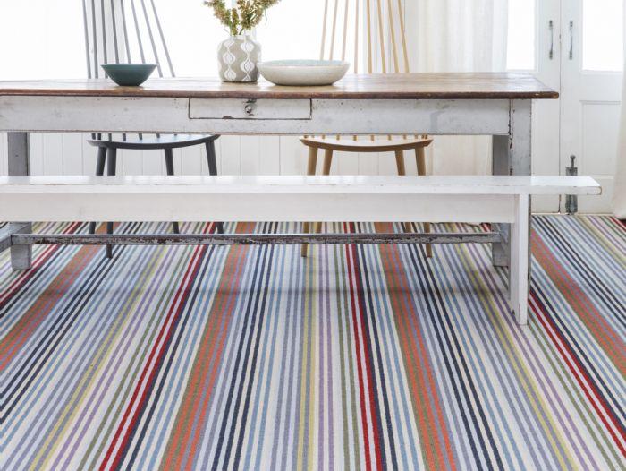 Striped carpet, witney oxfordshire, KPM Interiors